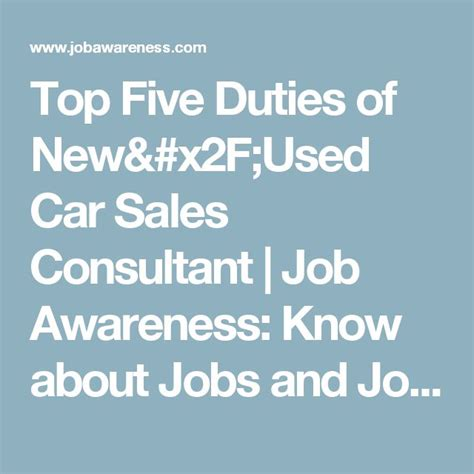 Car Sales Consultant Description by 25 Best Ideas About Description On Resume Skills Accounting