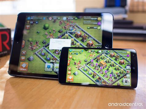 clash of clans for android how to transfer your clash of clans from ios to android android central