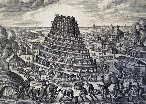 tower of babel genesis malerei pieter brueghel und andere turmbau zu babel