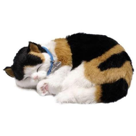 Calico Cat Sleeping Plush Toy   Cat Plush Toys   Pinterest