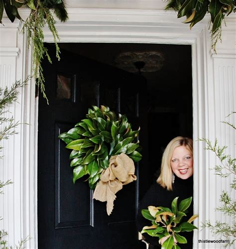 Duck Dynasty Home Decor magnolia leaf wreath 12 days of christmas day 3