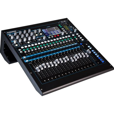 Mixer Allen Heath Terbaru allen heath qu 16c rackmountable digital mixer ah qu 16c b h