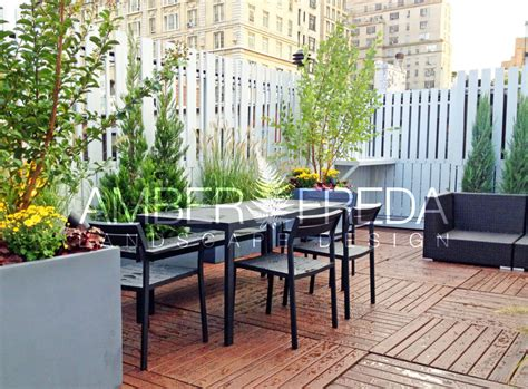 Planters Nyc by West Side Roof Deck Rehab Freda Home