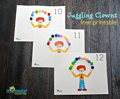 printable juggling instructions 17 best images about kindy crafts on pinterest earth day