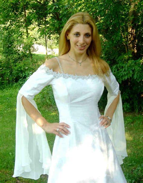 hochzeitskleid elfe elven wedding gown