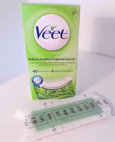 veet ready to use wax strips review paperblog