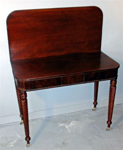 card tables for sale 7785 boston federal period d shaped card table c1815 for