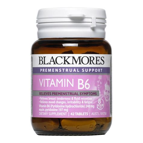 vitamin b6 pms mood swings buy vitamin b6 42 tablets by blackmores online priceline