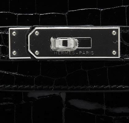 hermes black birkin 30cm in shiny croc bags of luxury