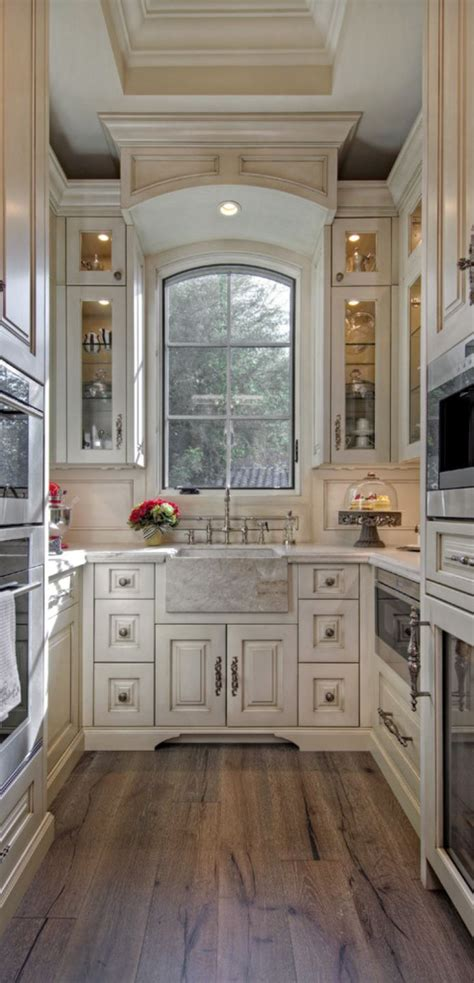Galley Kitchens Designs Ideas by Beautiful Galley Kitchen Takes Advantage Of Vertical Space