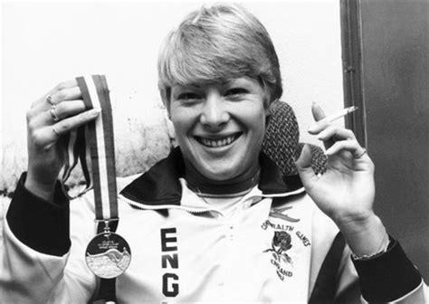 shirley strong british athlete  cigarette october   science  society picture