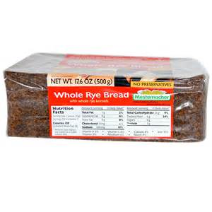mestemacher whole rye bread 17 6 oz 500 g iherb com