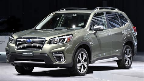 subaru forester 2019 2019 subaru forester unveiled more space more