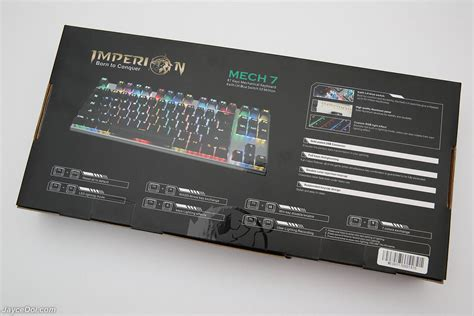 Keyboard Imperion Mech 7 imperion mech 7 rgb mechanical gaming keyboard review jayceooi