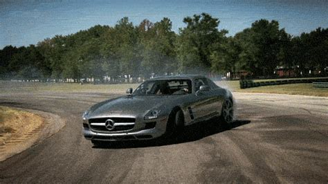 mercedes gifts your weekend gif getting sideways and with the sls amg