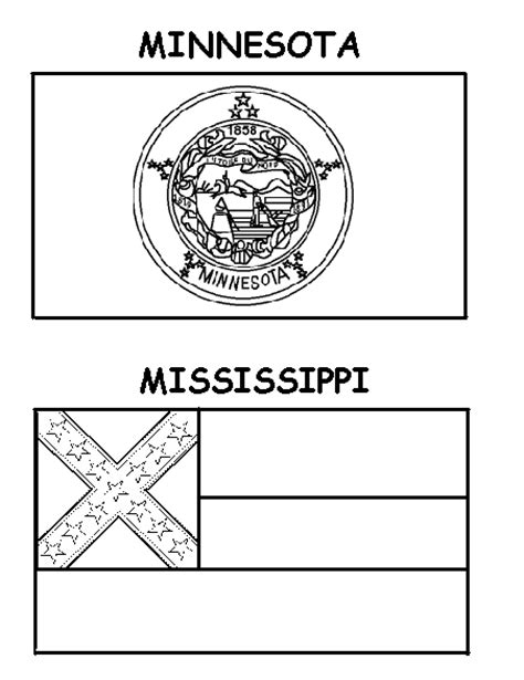 printable us state flags to color printable coloring pages