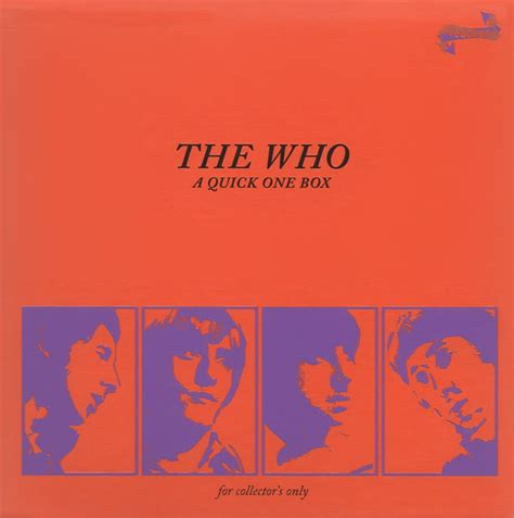 the who a one box box set album album at discogs