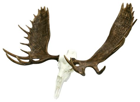 Cool House Clocks European Bull Moose Skull Mount Rustic Accessories And