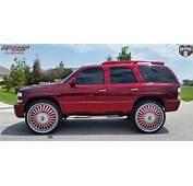 Chevrolet Tahoe Dub S723 Boogee Wheels Chrome