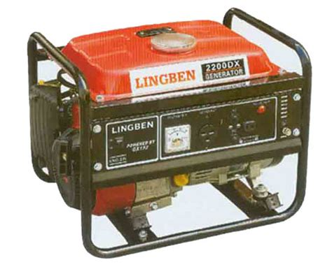 portable electric generator gas