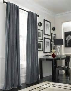 Gray Curtains For Bedroom - vorh 228 nge aus samt machen die wohnung prunkvoll
