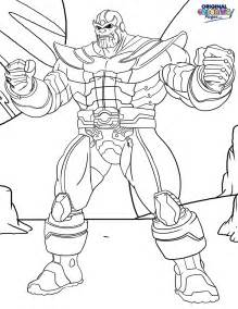 thanos coloring coloring pages original coloring pages