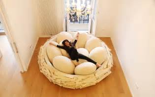 Huge Bean Bag Sofa Extra Large Floor Cushion Bed For Cozy Small Room Design