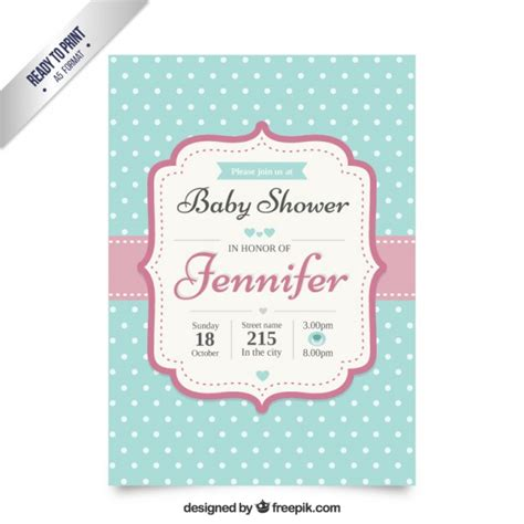 Fancy Baby Showers by Fancy Baby Shower Invitation Vector Free