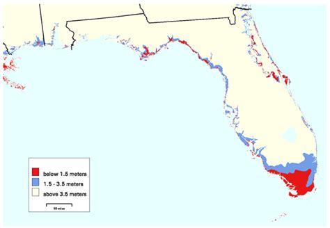 florida climate change map adapting to global warming