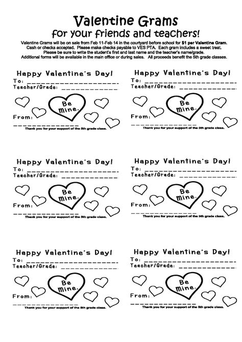 valentine grams templates just b cause