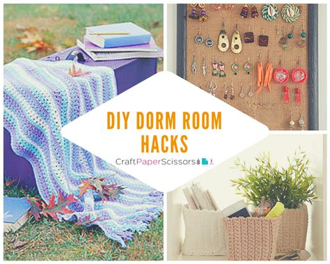 room hacks dorm room hacks 14 diy dorm room ideas