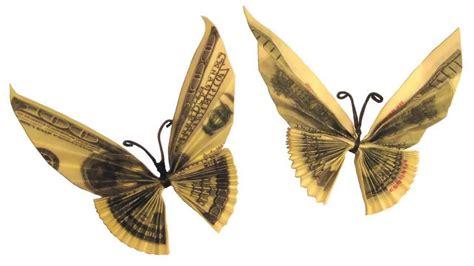 origami 3d mariposa butterfly tutorial origami de dinero mariposa youtube