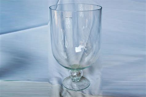 What Is A Hurricane Vase by Large Glass Hurricane Vase 48 X 30 Cm Gv083 Funxion