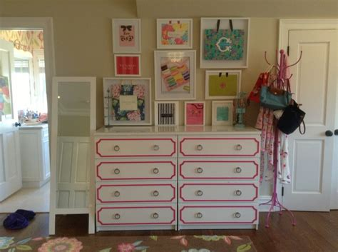 ikea pink bedroom ikea malm dressers with hot pink o verlays and hardware