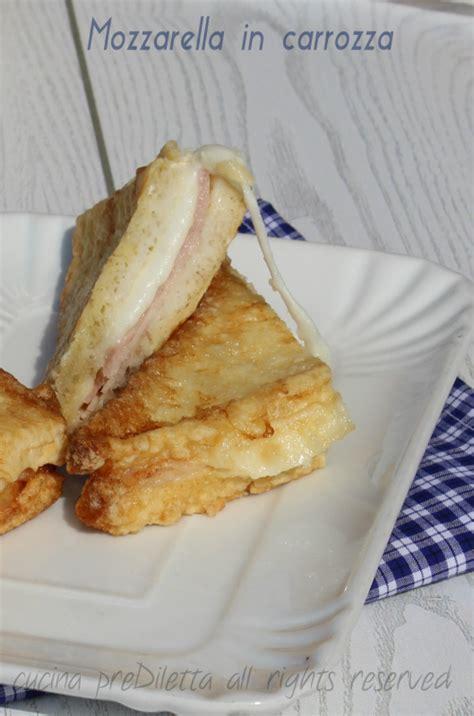 ingredienti mozzarella in carrozza mozzarella in carrozza ricetta facile cucina prediletta