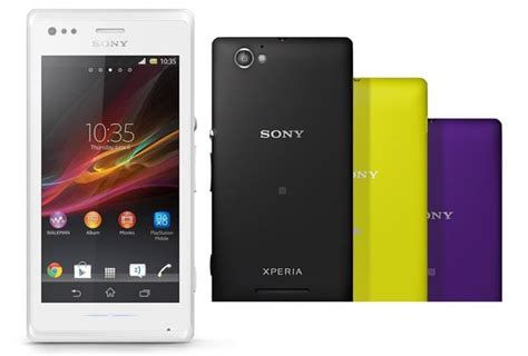 sony android phone sony xperia m android phone announced gadgetsin