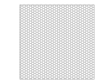 grid line template how to create an isometric grid in adobe illustrator 11 steps