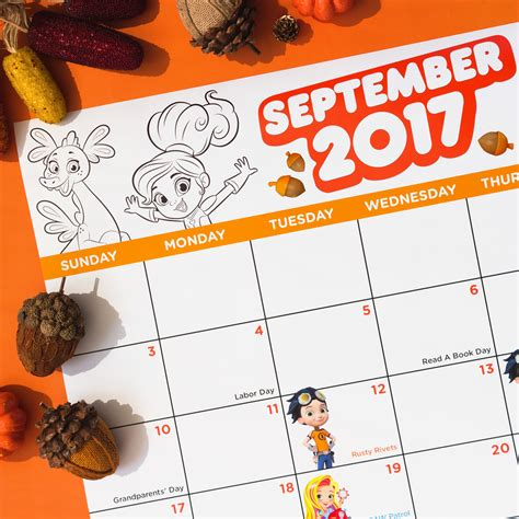 fall coloring pages nick jr nick jr september premieres calendar nickelodeon parents