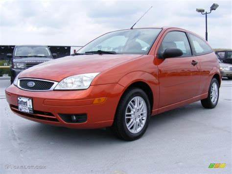 2005 Focus Zx3 by 2005 Blazing Copper Metallic Ford Focus Zx3 Se Coupe