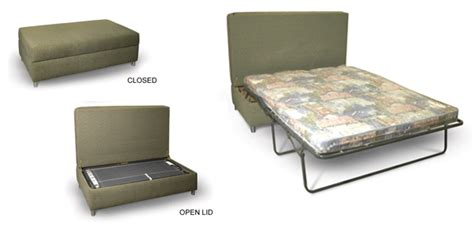 double fold out ottoman bed chilli pip furniture sofabed ottoman