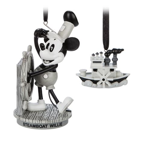 steamboat willie ornament february s mickey mouse memories collection out now