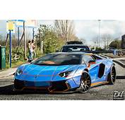 Tron Lamborghini Aventador With Gorgeous Liberty Walk