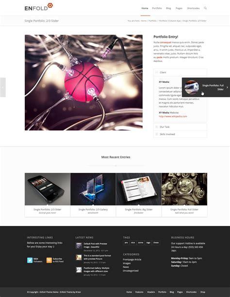 enfold theme portfolio tutorial enfold psd by kriesi themeforest