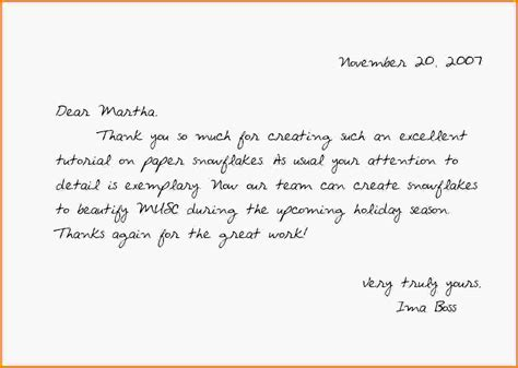 how to get a job writing a thank you letter after a job