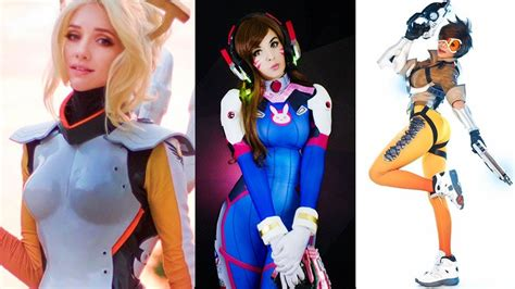 hot female overwatch characters overwatch characters in real life best overwatch cosplay