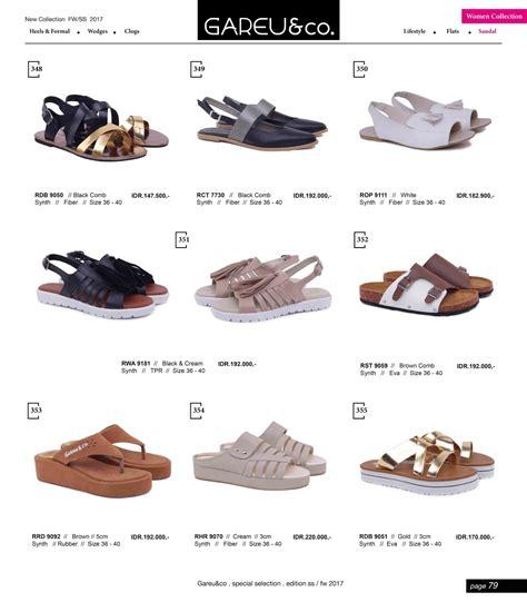 Sepatu And Co katalog terbaru gareu co 2017 sepatu dan sendal