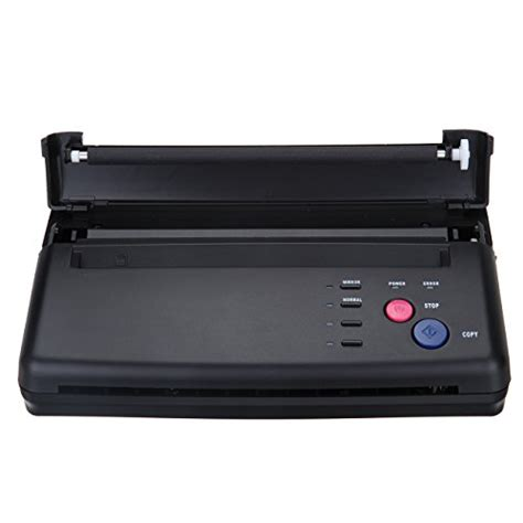tattoo thermal printer reviews black tattoo transfer stencil machine thermal copier
