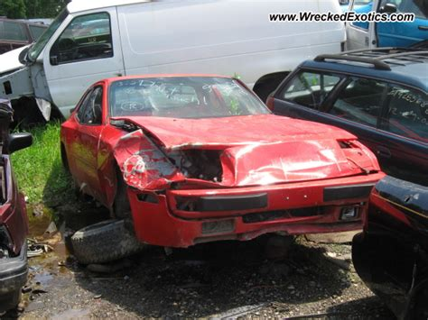 Porsche 944 Crash by Porsche 944 Wrecked Pennsylvania