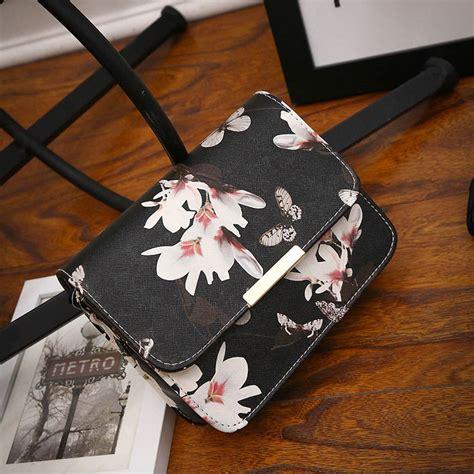 Tas Tote Fashion Wanita Retro Canvas Bag Omfb46gy fashion flowers leather shoulder bag tote purse handbag messenger crossbody ebay