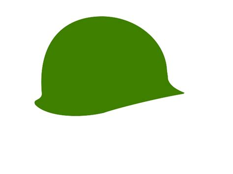 Soldier Helmet Outline by Army Helmet Clip Cliparts Co